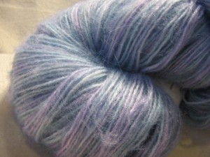 Angora Mohair Acrylic Blend Smooshed Fairies