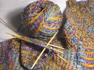Dark Rainbow Socks