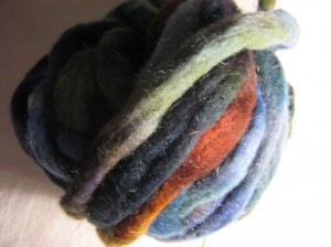 Fibre Club Feb Wool with Mohair 'Dark Matter'