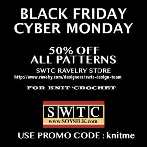 swtc black friday pattern sale!